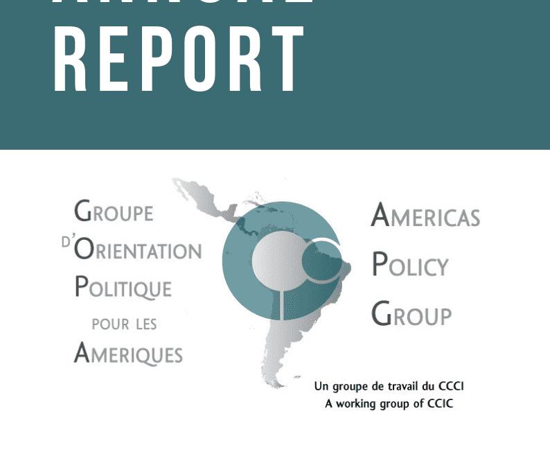 APG Annual Report 2018-2019