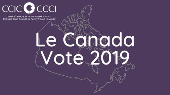 AVIS AUX MÉDIAS: Le Conseil canadien pour la coopération internationale réagit aux réductions de l'aide internationale proposées dans le programme électoral du Parti conservateur du Canada