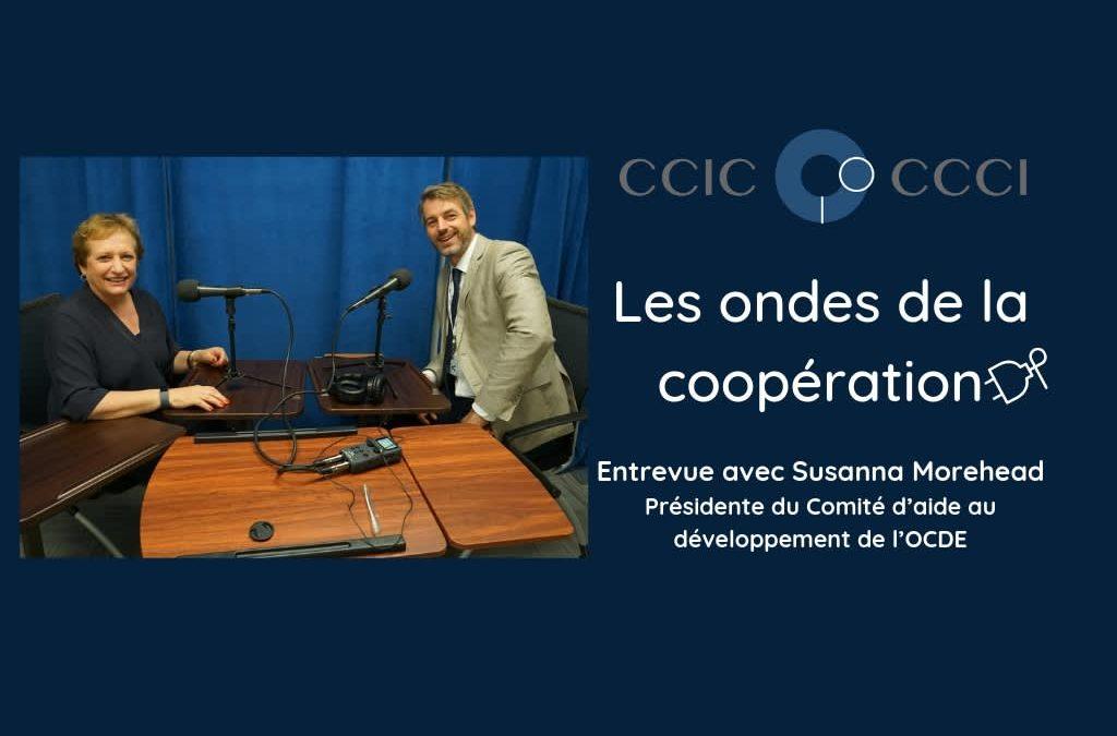 Balado: Susanna Morehead, présidente du comité d'aide au développement de l'OCDE