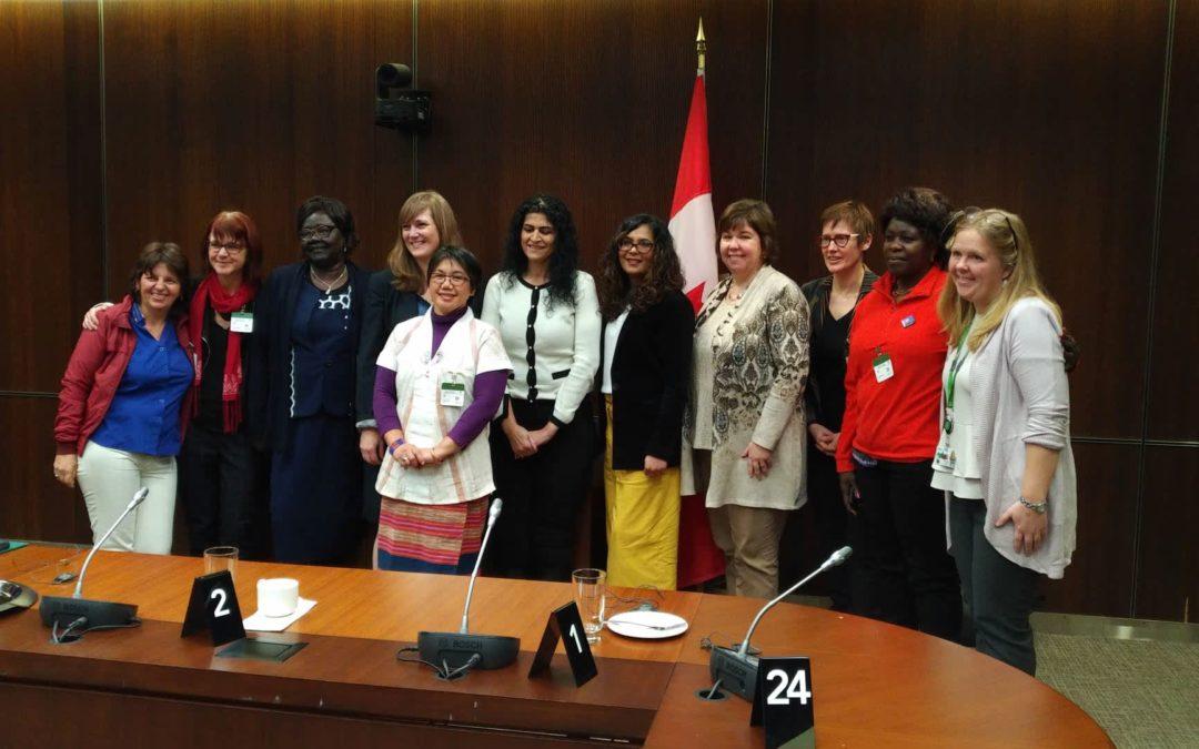 KAIROS' Women of Courage Empowers Women Peacebuilders