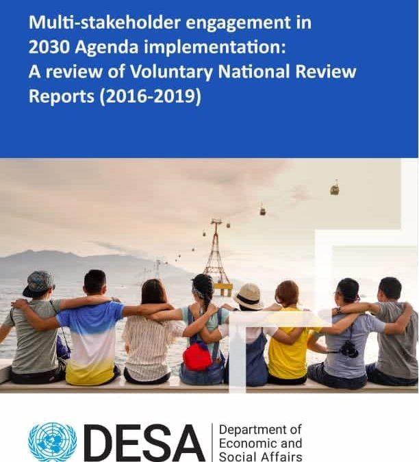 Participation d'acteurs multiples pour mettre en œuvre le Programme de développement durable à l'horizon 2030