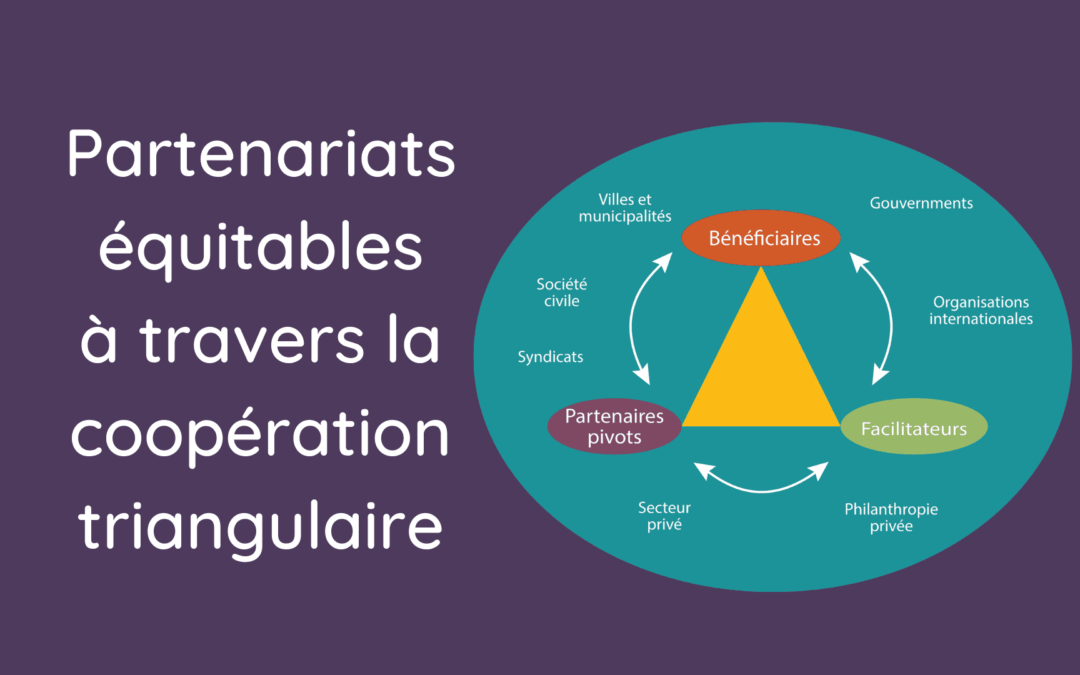 Partenariats équitables à travers la coopération triangulaire
