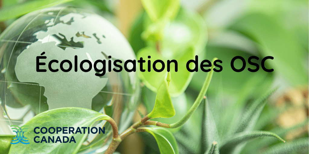 3 prises de vue sur Foi et écologie dans le secteur de la coopération internationale au Canada