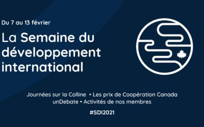 Pour préserver les acquis, Coopération Canada presse le gouvernement d'augmenter le financement de l'aide internationale afin d'assurer une relance économique mondiale