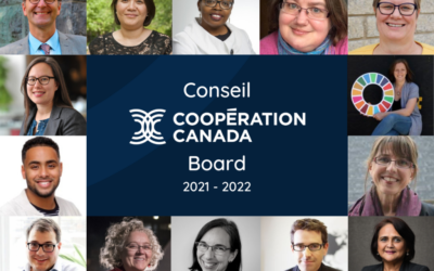 Cooperation Canada announces new and departing Board Members for its 2021-2022 fiscal year