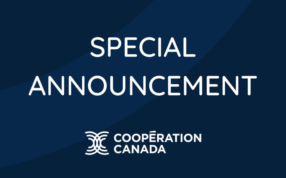 Cooperation Canada names two consecutive interim CEOs